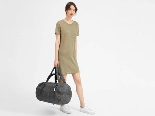 Everlane's new $80 convertible travel bag can be carried as a duffel or a backpack - and it holds more than enough for all your weekend trips