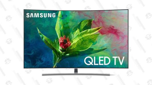 "Save Hundreds On Samsung's 55"" and 65"" Curved QLED TVs, Right Now"