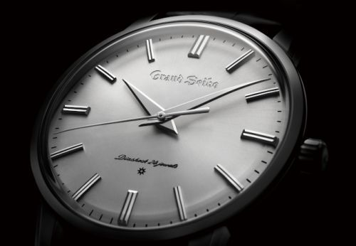 Re-creations of the first Grand Seiko commemorates the brand's 60th birthday