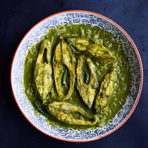 Fish in Green Masala