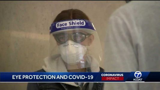 Should you wear eye protection to protect you from COVID-19?