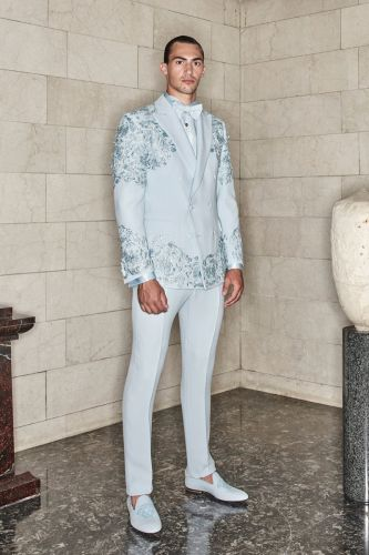 Atelier Versace Makes a Formal Splash with Fall '20 Collection