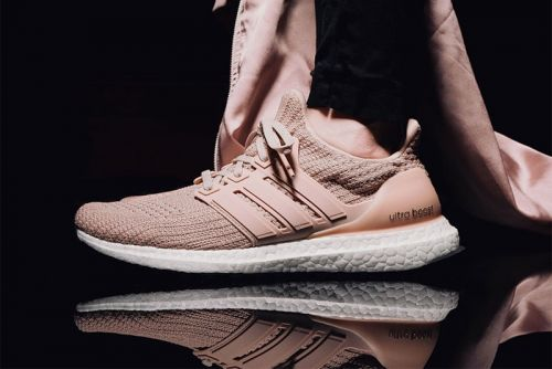 "Adidas UltraBOOST 4.0 Surfaces in ""Pale Pink"""