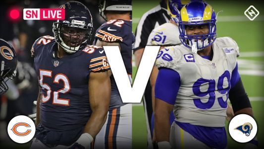 Bears vs. Rams live score, updates, highlights from 'Monday Night Football' game