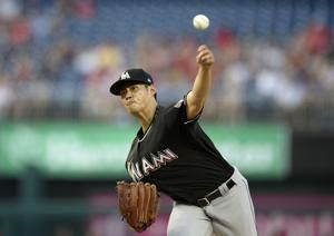 Galloway's two-run hit in 10th lifts Marlins over Nats 7-5