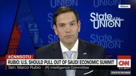 Marco Rubio says the US can't continue 'business as usual' with Saudi Arabia until we find out if they're behind Jamal Khashoggi's disappearance