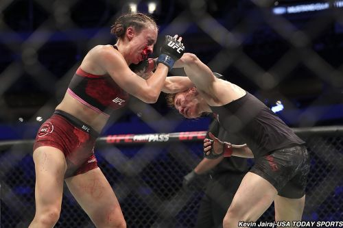 Czech Republic's Lucie Pudilova announces fight vs. Liz Carmouche for UFC Prague