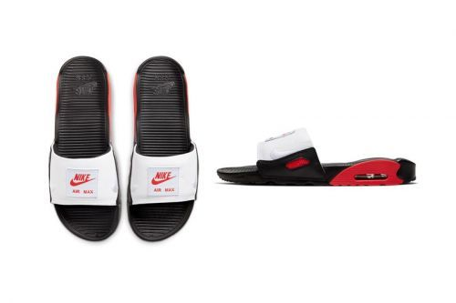 """Nike Air Max 90 Slide """"Chile Red"""" Offers Spicy Style"""