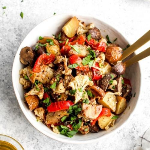 Hearty Marinated Vegetable Salad