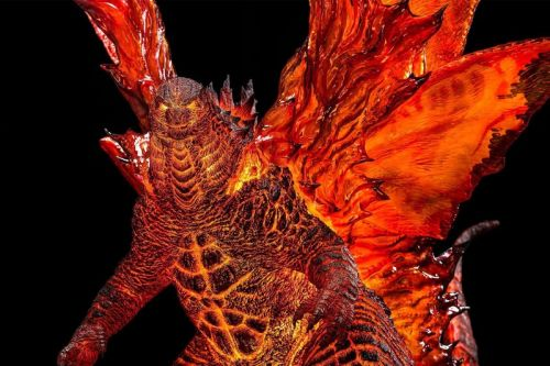 Godzilla Brings His Ultimate Burning Form in Spiral Studio's $2,000 USD Deluxe Statue