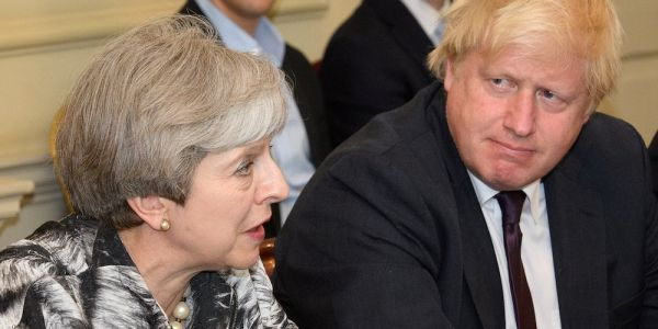 Boris Johnson says Theresa May has 'wrapped a suicide vest' around the UK constitution with her Brexit strategy