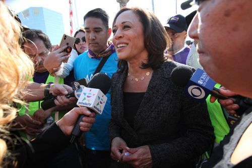 California up for grabs as Harris exits race