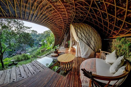 Made in Bali: Escape Reality at an Open-Air Bamboo Dome in the