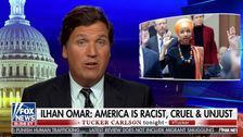 Tucker Carlson Calls 'Annoying' Ilhan Omar Proof Immigration Is 'Dangerous' To U.S