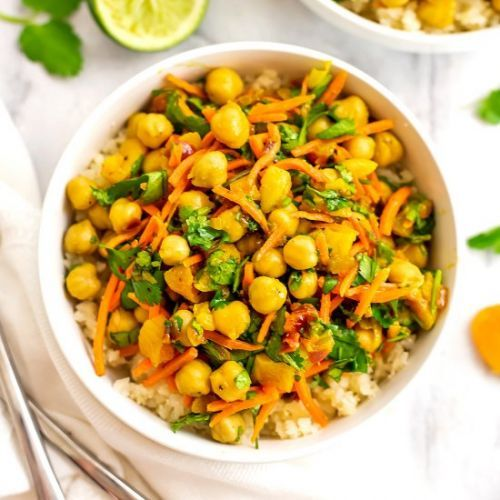 Apricot Chickpea Curry
