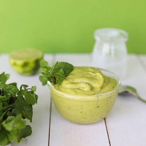 Mint Avocado Dip