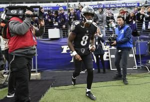 The Latest: Ingram scores again, Saints up big on Eagles