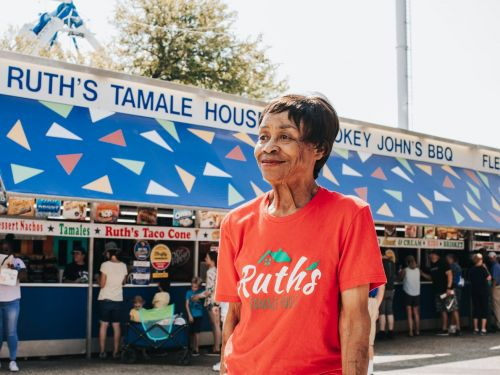 The Queen of the State Fair of Texas
