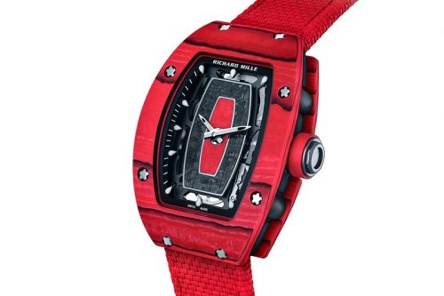 Richard Mille Creates Racing Red RM07-01 For All-Female Driving Team at Spa