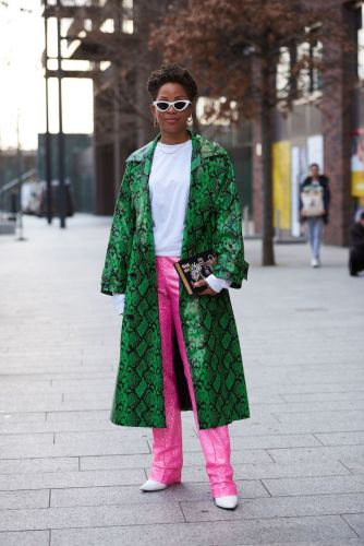 Excuse Me While I Obsess Over All the 2020 London Fashion Week Street Style