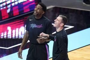 The captain: Miami's Udonis Haslem now an 18-year player