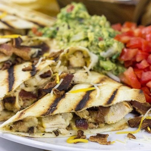 Chicken Bacon Ranch Quesadillas