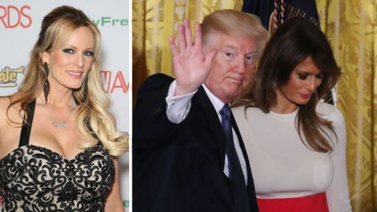 """Stormy Daniels Thinks """"Karma Will Bite Donald Trump in the A-"""" for Cheating on Melania"""
