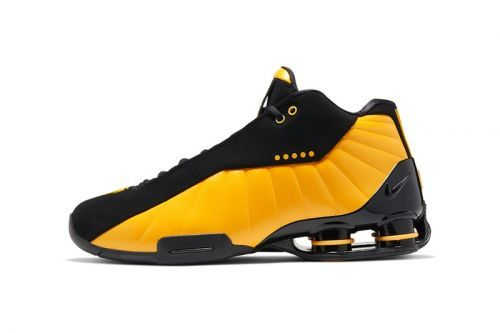 "Nike Shox BB4 Releases in ""University Gold"""