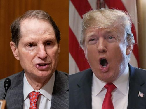 Sen. Ron Wyden accused Trump of 'working the refs' by pulling the renomination of an FCC commissioner who had questioned the president's executive order on social media content
