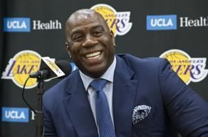 Magic already excited by LeBron's offseason impact on Lakers