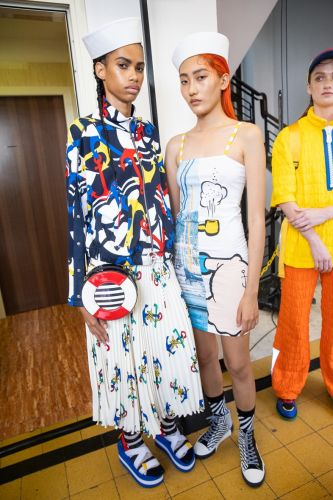 Benetton debuts its SS20 collection around a Milan swimming pool