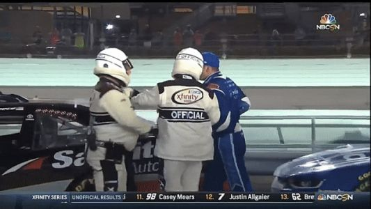 Sadler Had To Be Held Back From A Fight After Losing Out On NASCAR Xfinity Title
