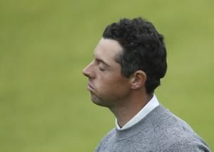 McIlroy's salvage operation falls just short at British Open