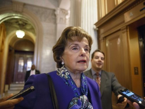 California Sen. Dianne Feinstein addresses new primary challenger: 'All I can do is run on my record'