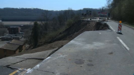 WATCH LIVE: PennDOT news conference on Route 30 collapse in East Pittsburgh