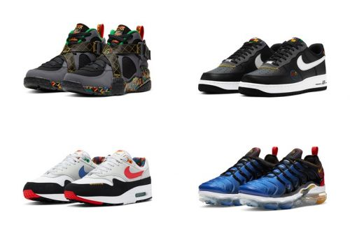 """Nike Sportswear's """"Live Together/Play Together"""" Pack Salutes Unity, Peace and Basketball"""