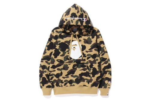BAPE & Champion Collab Once More for a Fall/Winter 2017 Capsule