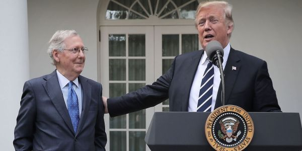 It looks like Trump and McConnell are friends again