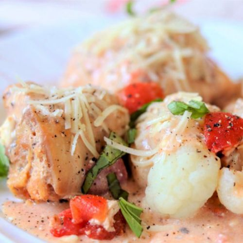 Slow cooker italian chicken thighs