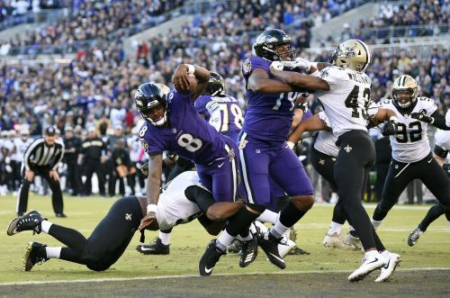 Saints march on to win against Ravens