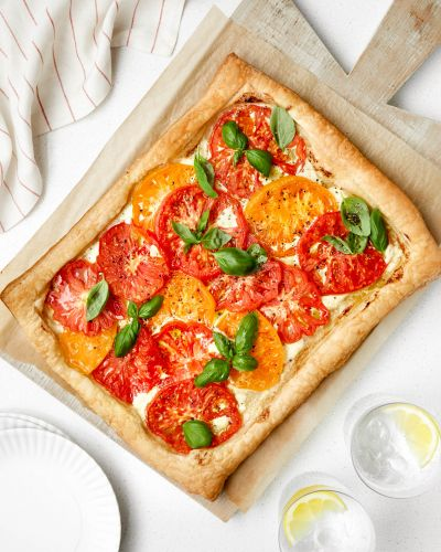 SPONSORED POST: This Easy Summer Tart Celebrates Tomato Season in Style