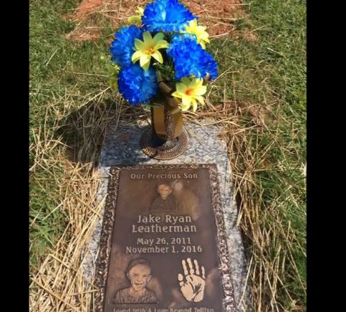 Parents say deceased 5-year-old son's grave marker repossessed 'like a car'