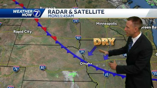 Hot and dry to start the week, more humid late week