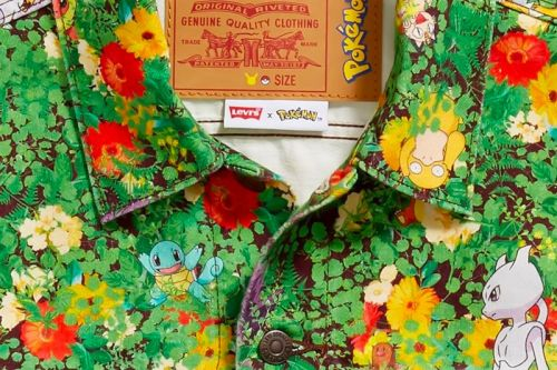 Levi's Teases Colorful Pokémon Denim Jacket