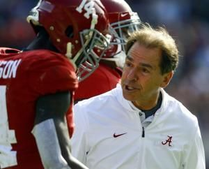Tied at half, No. 1 Alabama romps past The Citadel 50-17
