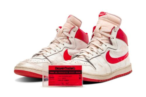 Michael Jordan's Game-Worn Nike Air Ship Sold for $1.47 Million USD At Sotheby's Auction