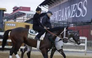 The Latest: War of Will finishes first in Preakness