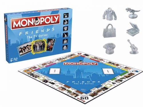 A 'Friends' edition of Monopoly now exists - and the game pieces alone will convince you to buy it
