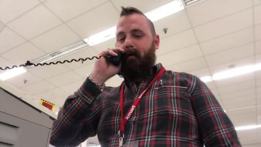 'Attention Kmart shoppers': Video shows longtime Kmart employee's emotional farewell