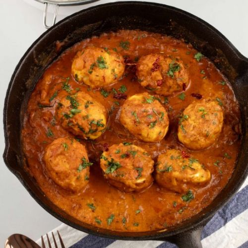 Healthy, Easy Egg Curry Recipe